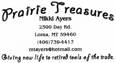 Prairie Treasures Business Card